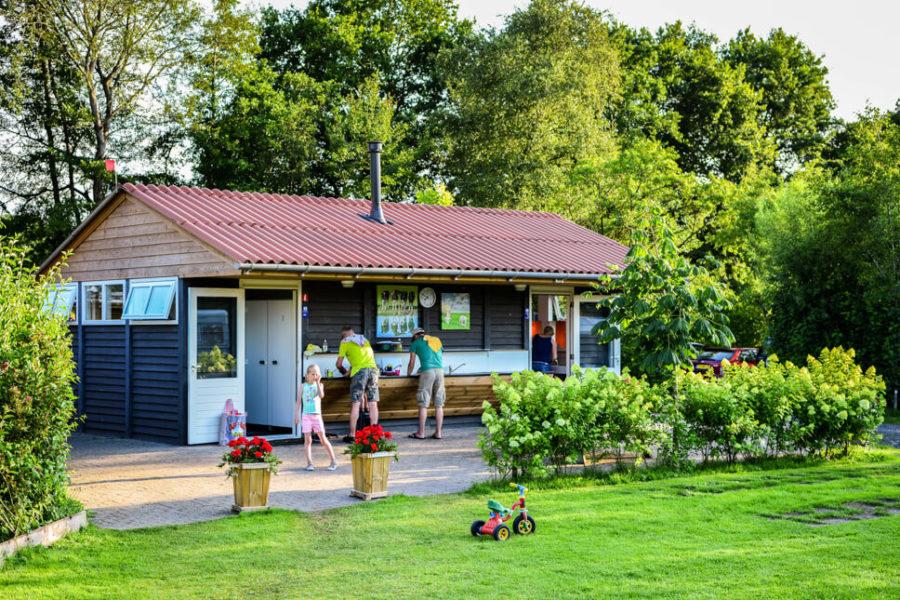 Sanitairgebouw camping Buitenplaats Drenthe