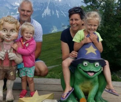 familie van Campen in Oostenrijk