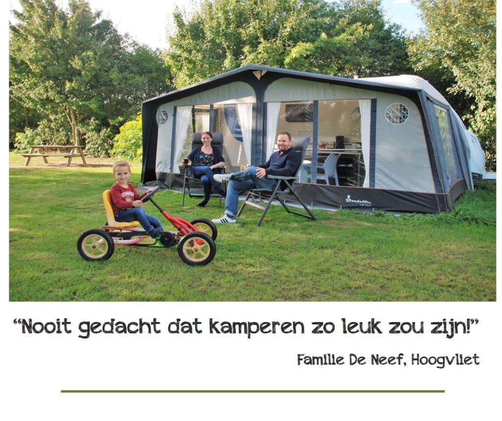 Huurcaravan Camping Buitenplaats Drenthe