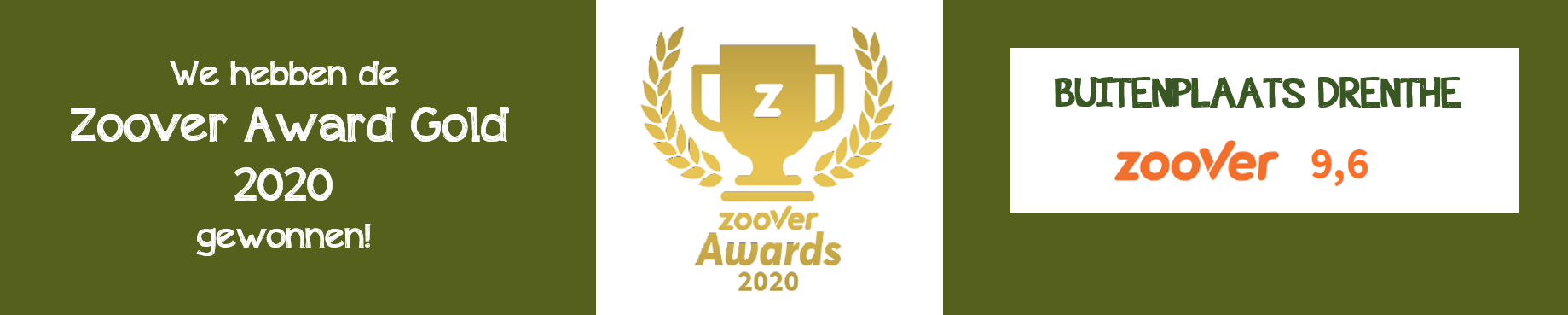 Zoover Award Gold